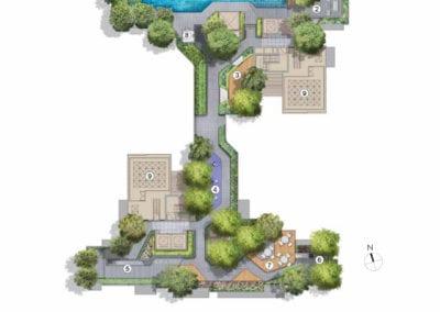 Mont Botanik Residence - site plan-Roof-Terrace