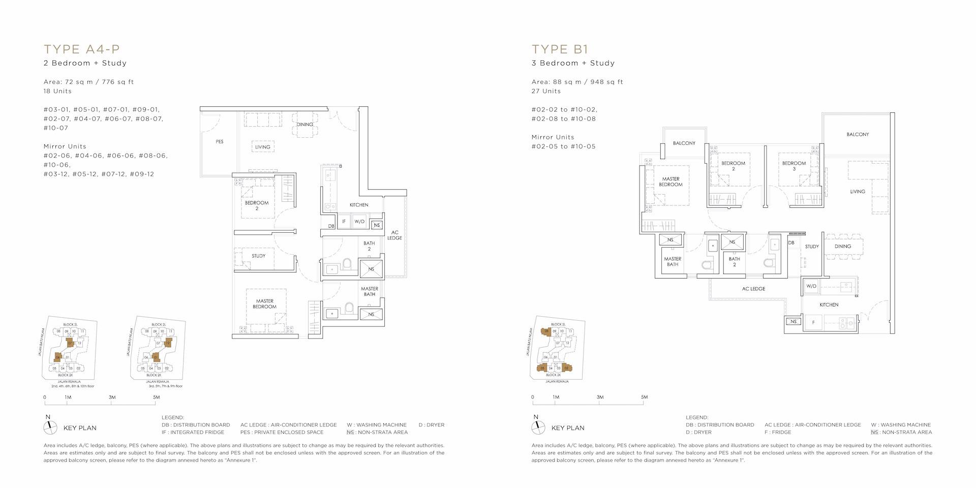A4 PB1 FloorPlan - MONT BOTANIK RESIDENCE