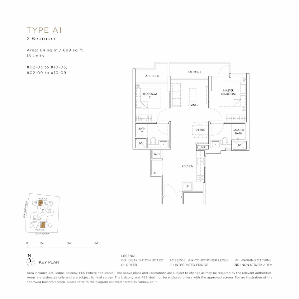 Mont Botanik Floor Plan A1