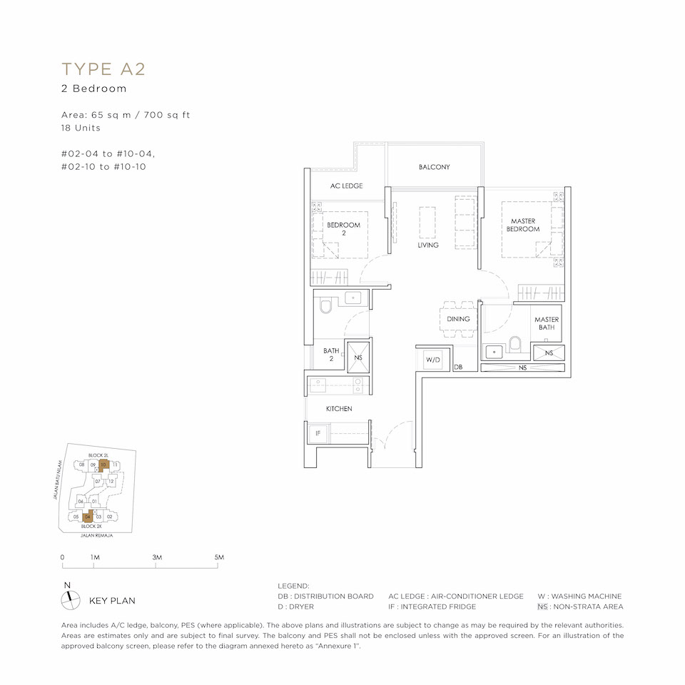 Mont Botanik Floor Plan A2