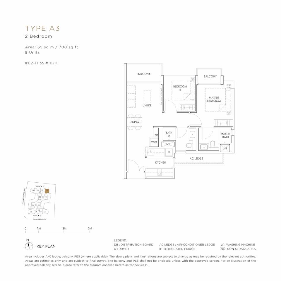 Mont Botanik Floor Plan A3
