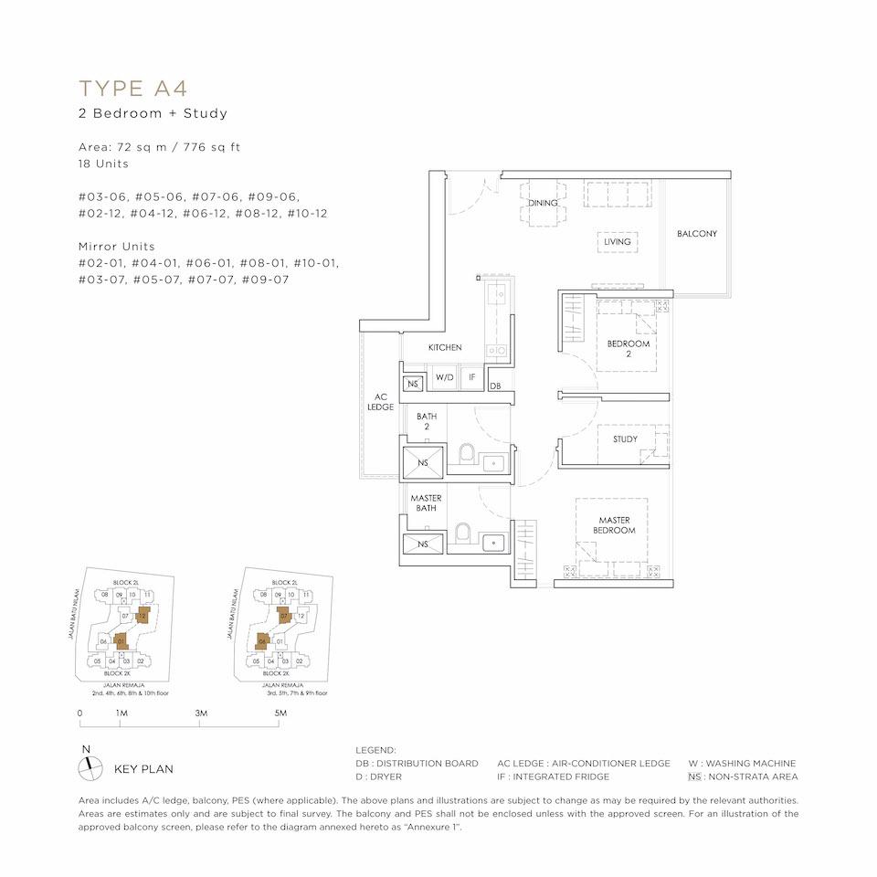 Mont Botanik Floor Plan A4